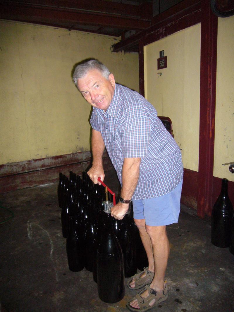 Mise en bouteille du millésime 2011 !