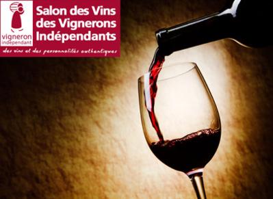 Invitation au Salon des Vins des Vignerons Indépendants de Paris
