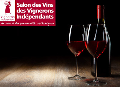 Invitation au salon des vins des vignerons ind pendants de for Porte de champerret salon des vignerons