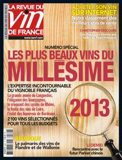 Notre Chiroubles 2013 cité dans La Revue du Vin de France !