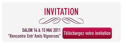 "Salon ""Entr'amis Vignerons"" 14 & 15 Mai 2011"