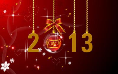 Tous nos meilleurs voeux 2013