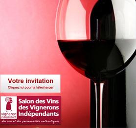 Venez découvrir nos vins au Salon des Vignerons Indépendants de Paris !