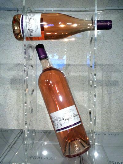 Mise en bouteille de notre Beaujolais Rosé 2013