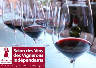 Invitation au Salon des Vignerons Indépendants de Lyon