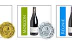 3 médailles au concours des Grands Vins de France